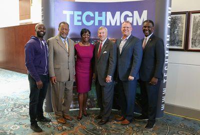 Montgomery Chamber Representatives at Press Conference