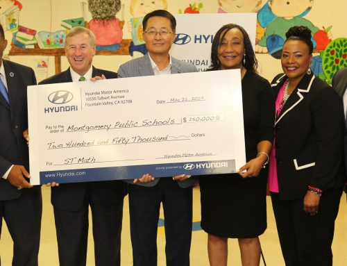 HYUNDAI MOTOR AMERICA ANNOUNCES A $250,000 DONATION TO MONTGOMERY PUBLIC SCHOOLS FOR STEM EDUCATION